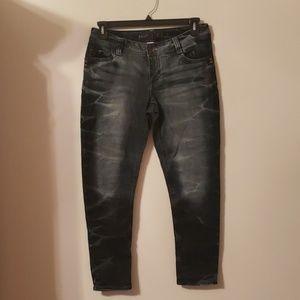 Juniors acid washed Skinny jeans